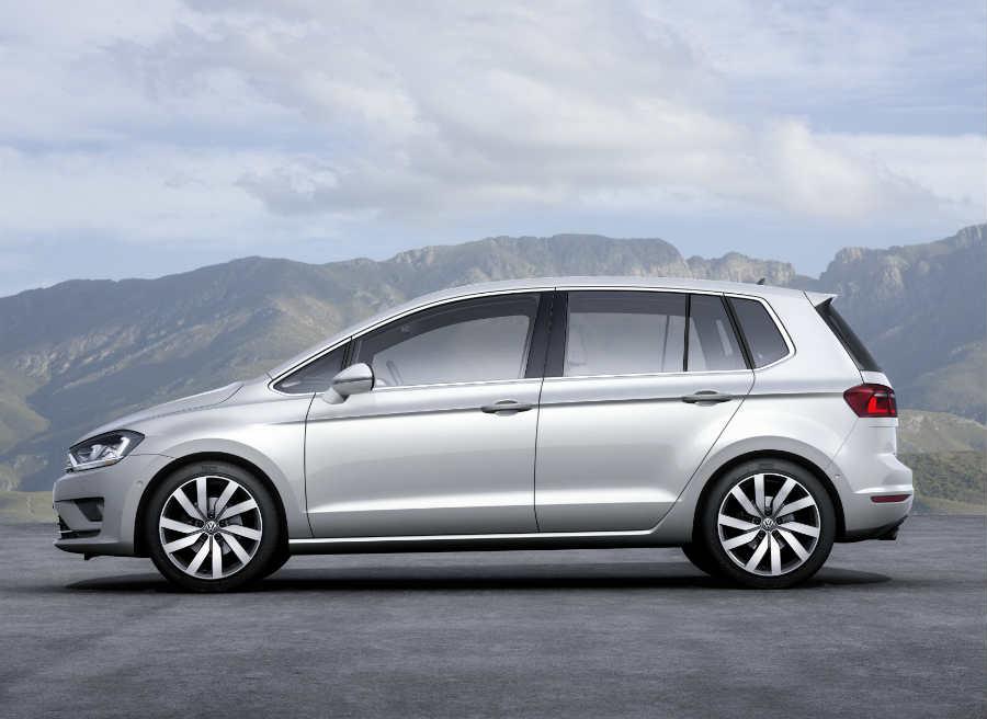 La llegada del Volkswagen Golf Sportsvan está prevista para 2014.
