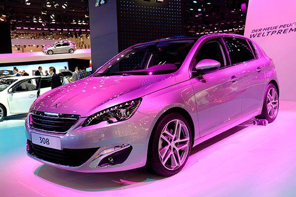 Peugeot 308 2014, se presenta en Frankfurt