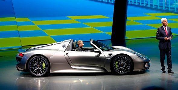 Porsche 918 Spyder, debut mundial en Frankfurt 2013