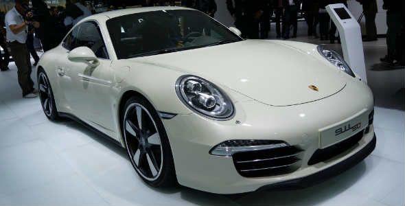 50 años del Porsche 911 en el Salón de Frankfurt 2013