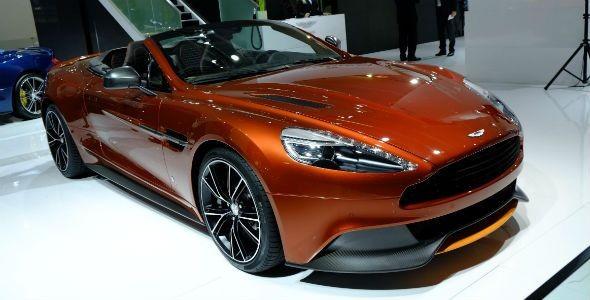 Aston Martin Vanquish Volante: belleza suprema