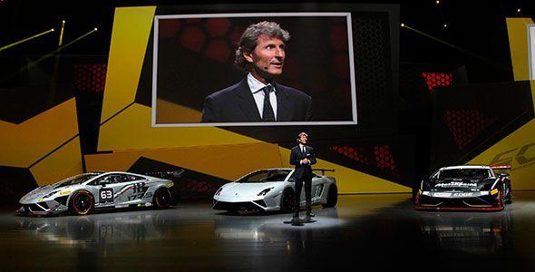 El Lamborghini Gallardo LP 570-4 Squadra Corse debuta en Frankfurt 2013