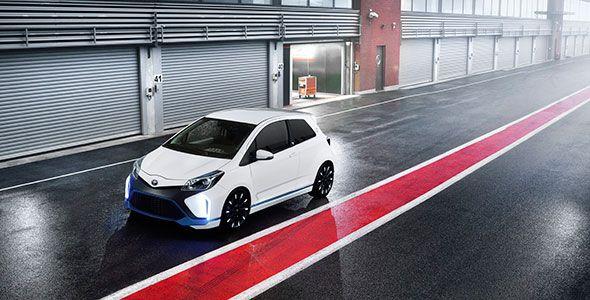 Toyota Yaris Hybrid-R, en el Salón de Frankfurt 2013