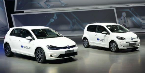 Volkswagen presenta el e-Up!, el e-Load Up! y el e-Golf en el Salón de Frankfurt