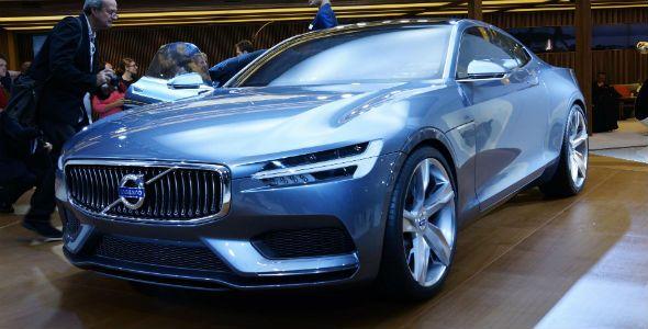 Volvo Concept Coupé: prototipo híbrido en Frankfurt