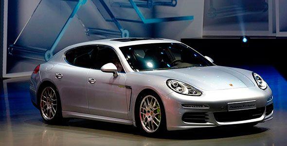 Nuevo Porsche Panamera diésel, en el Salón de Frankfurt
