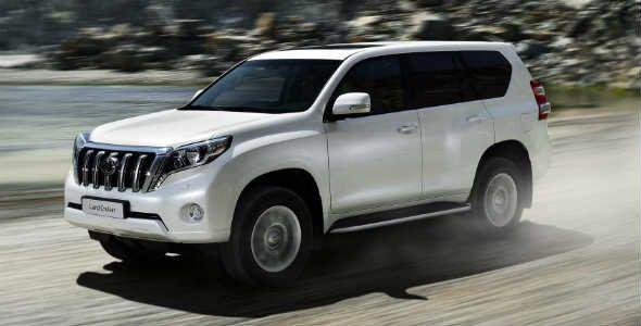 Toyota Land Cruiser 2014: restyling a la vista
