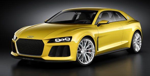 Audi Sport quattro concept: homenaje híbrido a los rallyes