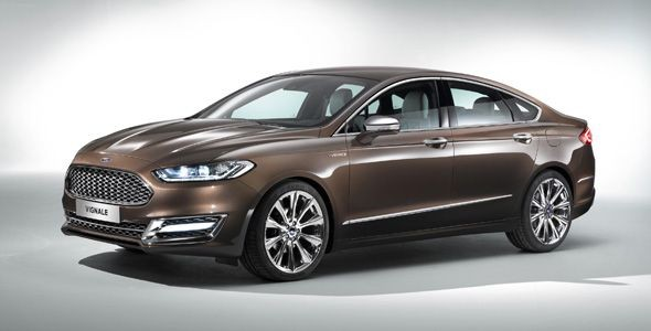 Ford Mondeo Vignale Concept: el anticipo de la gama premium de Ford