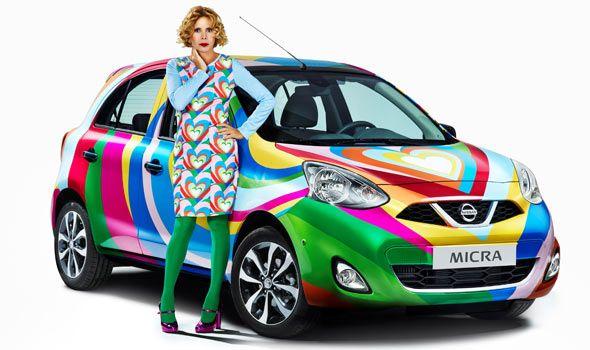 El Nissan Micra Agatha Ruiz de la Prada ya es realidad