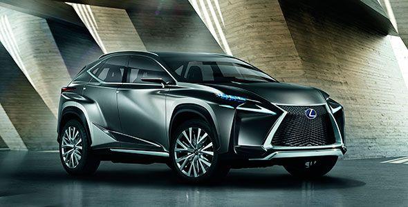 El nuevo Lexus LF-NX se presentará en el Salón de Frankfurt 2013