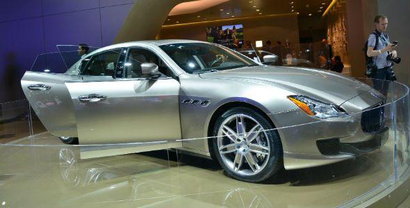 El Maserati Quattroporte Ermenegildo Zegna Limited Edition debuta en el Salón de Frankfurt