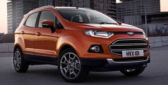 La venta del Ford EcoSport se inicia en Facebook