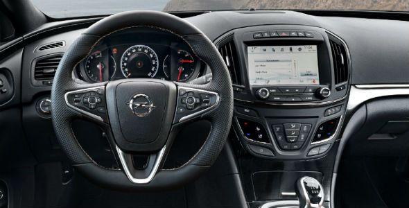 Nuevo Opel Insignia, con sistema de info-entretenimiento actualizable