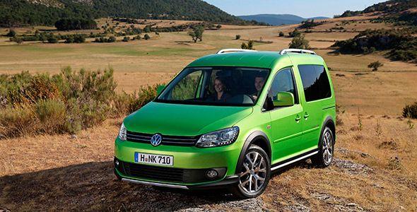 Nuevo Volkswagen Caddy Bluemotion, en el Salón de Frankfurt 2013
