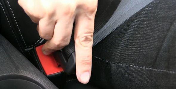 Tráfico inicia una campaña de control del uso del cinturón y las sillitas infantiles