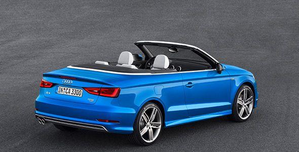 Nuevo Audi A3 Cabrio 2013, más y mejor