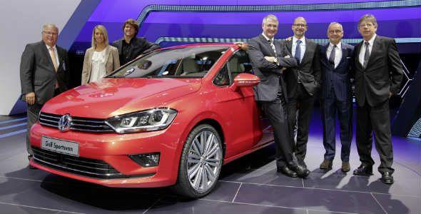 Volkswagen Golf Sportsvan, ya a la venta en España desde 21.020 €