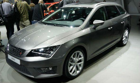 El Seat León ST convence en el Salón de Frankfurt 2013