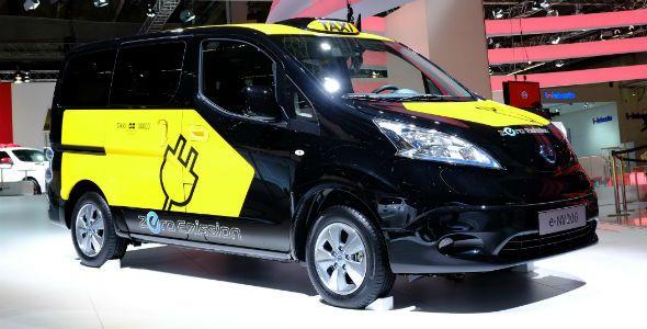 El Nissan e-NV200 llega a Barcelona