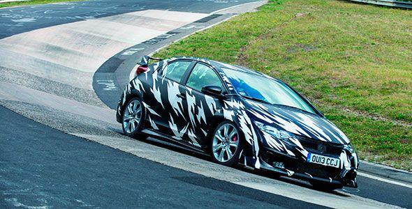 Nuevo Honda Civic Type-R, el más rápido en Nürburgring