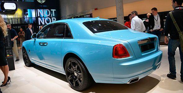 Rolls Royce se apunta a la moda SUV en Frankfurt 2013