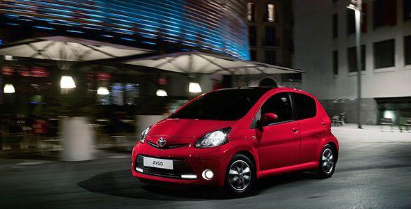 Toyota Aygo Rojo Frac: nueva serie especial