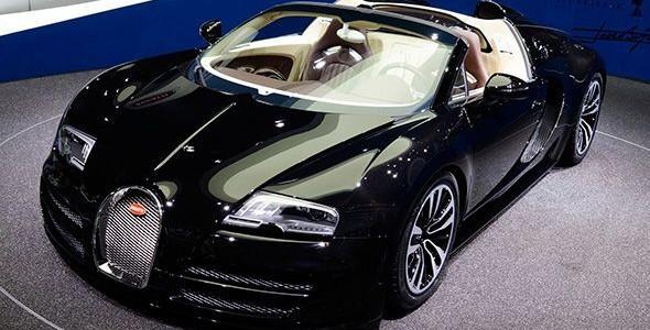 Edición especial del Bugatti Veyron Grand Sport Vitesse en Frankfurt 2013