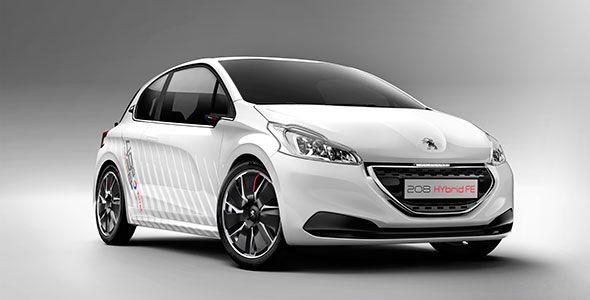 El Peugeot 208 HYbrid FE acredita un consumo de 1,9 l/100km