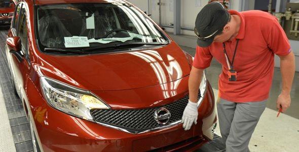 Comienza la fabricación del nuevo Nissan Note