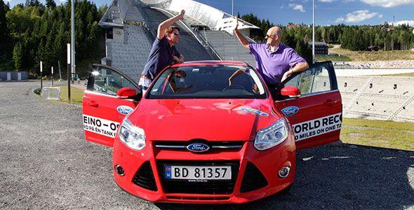 1.618 km en un Ford Focus 1.0 Ecoboost: récord de autonomía