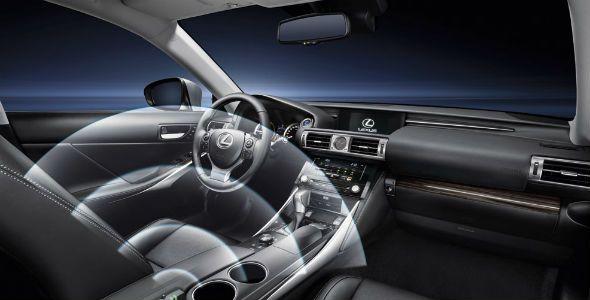 Lexus Wifi Hotspot: la gama IS, ahora con Wifi
