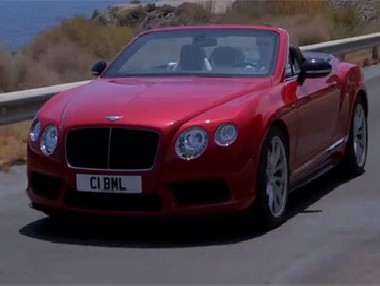 Vídeo: Bentley Continental GT V8 S Convertible