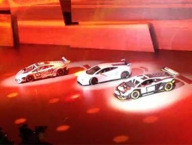 Lamborghini en el Salón de Frankfurt