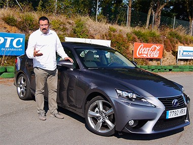 Vídeo prueba del Lexus IS 300h