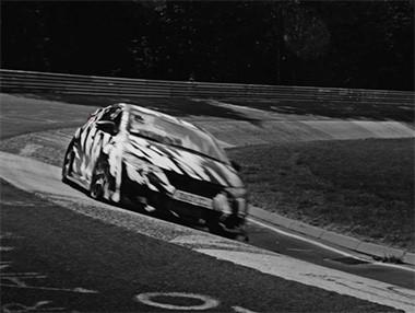 El Honda Civic Type-R rodando en Nürburgring