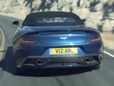 Aston Martin Vanquish Volante: espectáculo en movimiento