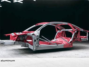 Así es la carrocería de aluminio ASF del nuevo Audi A8 2013