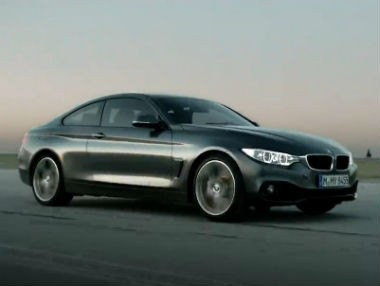 BMW Serie 4 Coupé, así es en movimiento