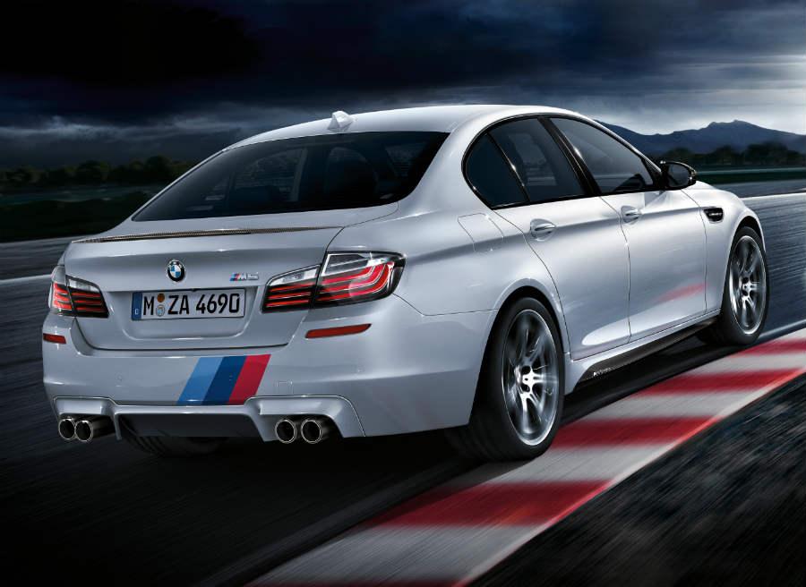El nuevo sistema de escapes de este paquete Individual M Performance modifica el ya de por sí espectacular sonido del motor del M5 y M6.