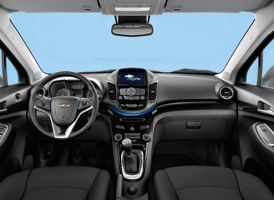 El MyLink del Chevrolet Orlando cuenta con una pantalla táctil de 7 pulgadas.