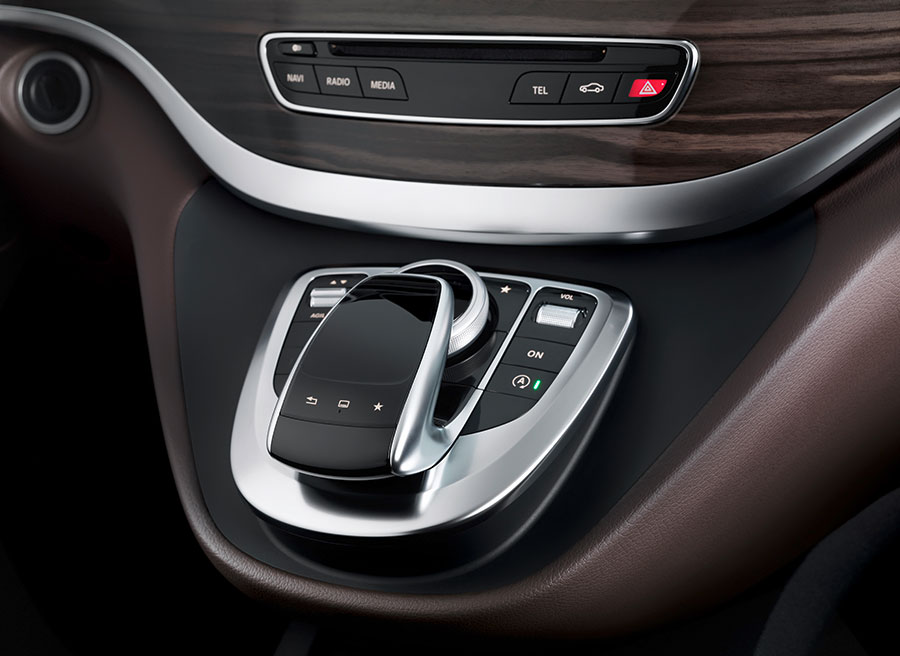 Interior nuevo Mercedes Clase V MY 2014