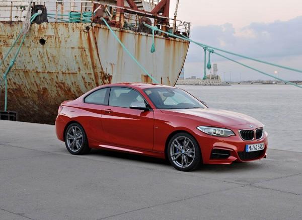 La silueta del BMW Serie 2 es muy elegante.