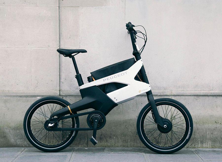 Bicicleta eléctrica Peugeot HYbrid Bike AE21