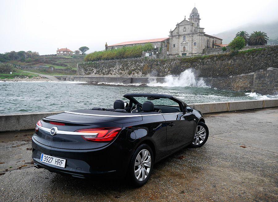 Prueba Opel Cabrio 1.4 Turbo 140 CV MY 2013, Santa María de Oia, Rubén Fidalgo
