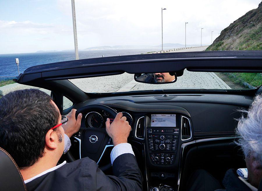 Prueba Opel Cabrio 1.4 Turbo 140 CV MY 2013, La Coruña, Rubén Fidalgo