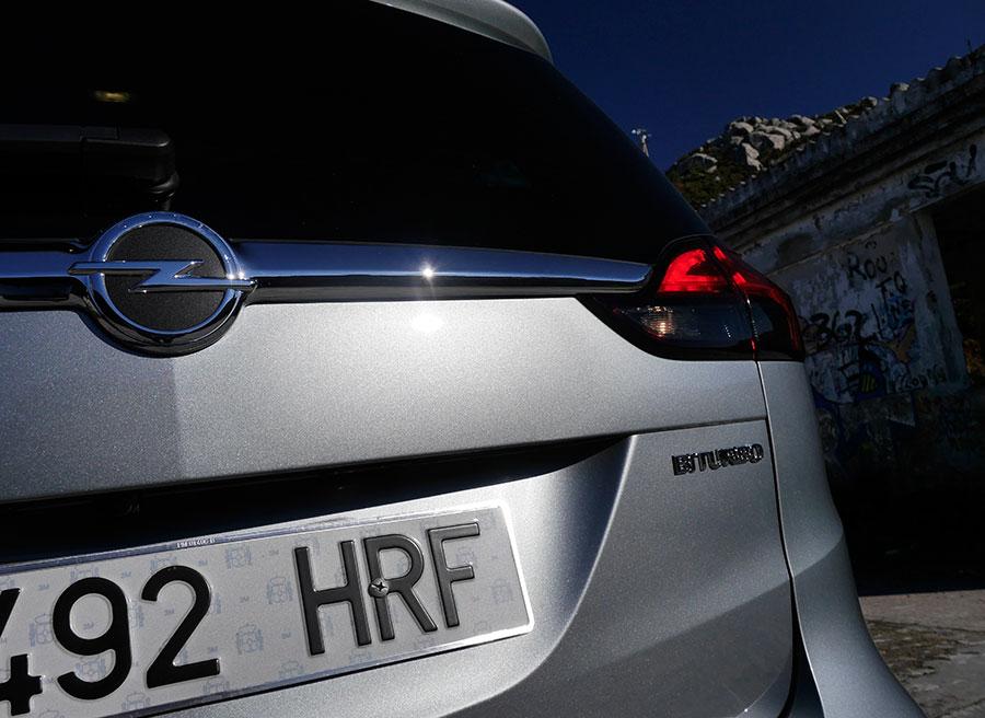 Prueba Opel Zafira Tourer CDTi Biturbo 195 CV, detalles, Rubén Fidalgo