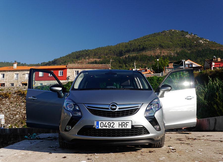 Prueba Opel Zafira Tourer CDTi Biturbo 195 CV, Santa María de Oia, Rubén Fidalgo