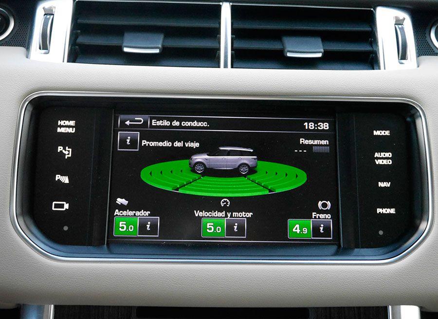 Prueba Range Rover Sport HSE SDV6 290 CV, económetro, Rubén Fidalgo