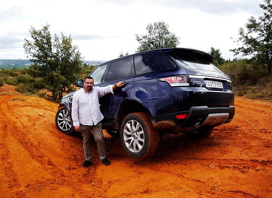 Prueba Range Rover Sport HSE SDV6 290 CV, Villabalter, Rubén Fidalgo